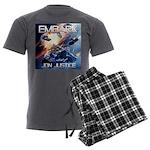 EMBARK COVER LOGO Men's Charcoal Pajamas