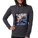 EMBARK COVER LOGO Womens Hooded Shirt