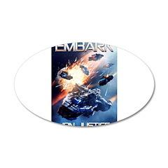 EMBARK COVER LOGO Wall Decal