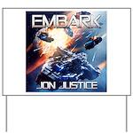 EMBARK COVER LOGO Yard Sign