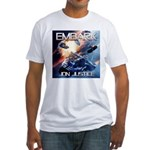EMBARK COVER LOGO Fitted T-Shirt
