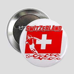 """Swiss soccer 2.25"""" Button"""