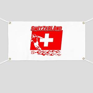 Swiss soccer Banner