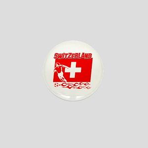 Swiss soccer Mini Button