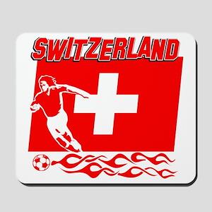 Swiss soccer Mousepad