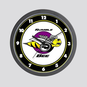 Rumble Bee Wall Clock