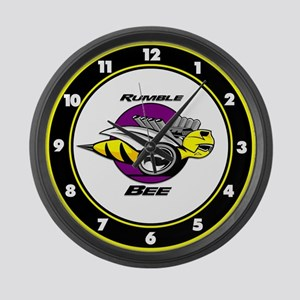 Rumble Bee Large Wall Clock