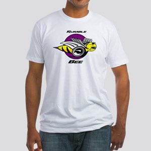 Rumble Bee Fitted T-Shirt