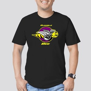 Rumble Bee Men's Fitted T-Shirt (dark)