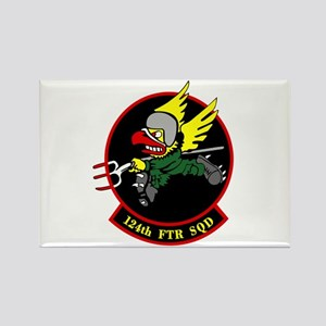 124th FTR Squadron Rectangle Magnet (10 pack)