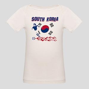 South Korean soccer Organic Baby T-Shirt