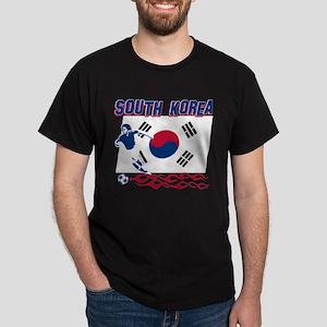 South Korean soccer Dark T-Shirt
