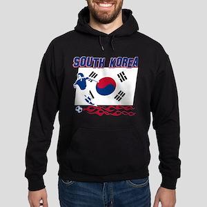 South Korean soccer Hoodie (dark)