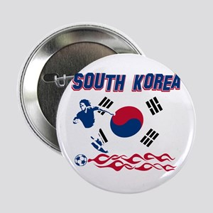 "South Korean soccer 2.25"" Button"