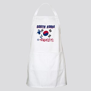South Korean soccer Apron