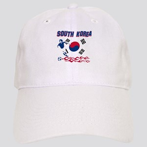 South Korean soccer Cap