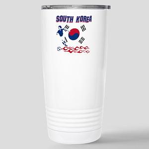 South Korean soccer Stainless Steel Travel Mug