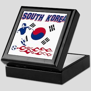 South Korean soccer Keepsake Box
