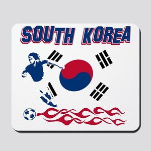 South Korean soccer Mousepad