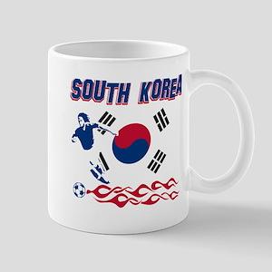 South Korean soccer Mug