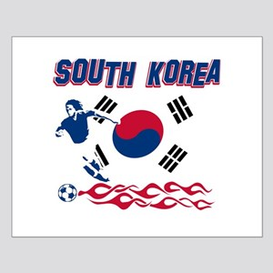 South Korean soccer Small Poster
