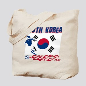 South Korean soccer Tote Bag