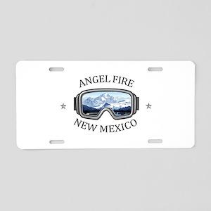Angel Fire Resort - Angel Aluminum License Plate