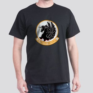 2d Fighter Squadron Black T-Shirt