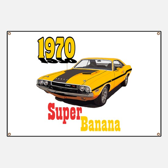 The Super Banana Banner