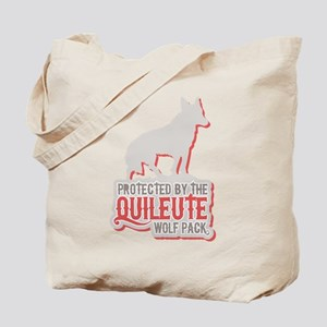Protected by Quileute Wolfpac Tote Bag