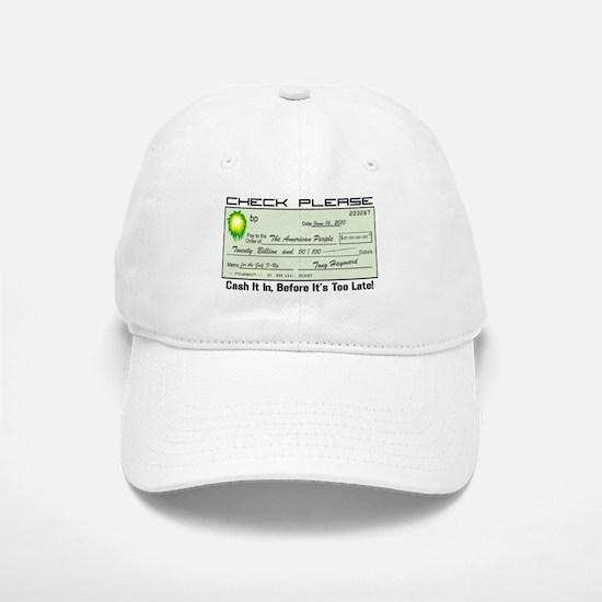 bp Check Baseball Baseball Cap