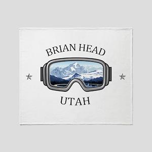 Brian Head - Brian Head - Utah Throw Blanket