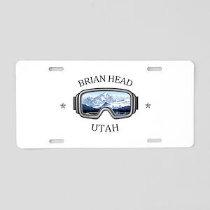 Brian Head - Brian Head - Aluminum License Plate
