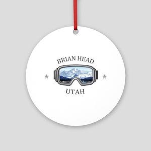 Brian Head - Brian Head - Utah Round Ornament