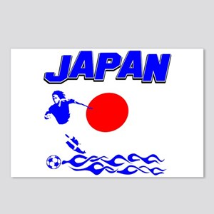 Japanese soccer Postcards (Package of 8)