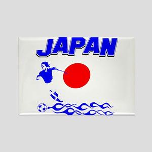 Japanese soccer Rectangle Magnet
