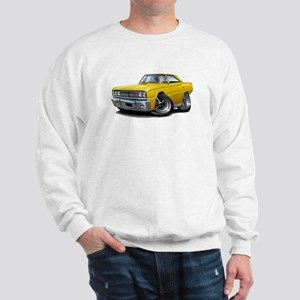 1967 Coronet Yellow Car Sweatshirt