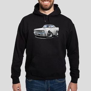 1967 Coronet White Car Hoodie (dark)