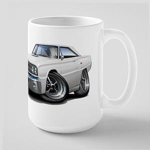 1967 Coronet White Car Large Mug