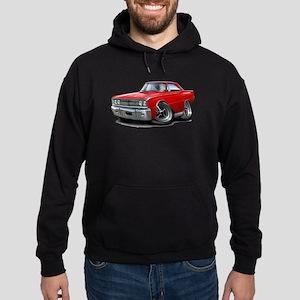 1967 Coronet Red Car Hoodie (dark)