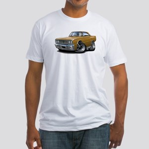 1967 Coronet Gold Car Fitted T-Shirt