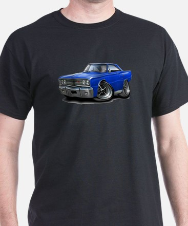 1967 Coronet Blue Car T-Shirt