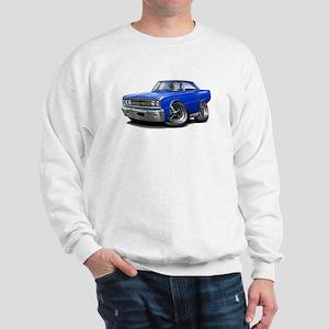 1967 Coronet Blue Car Sweatshirt