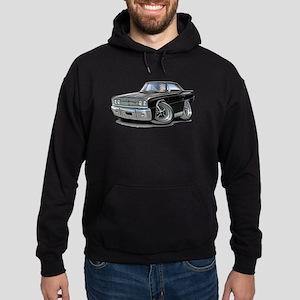 1967 Coronet Black Car Hoodie (dark)