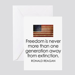 Ronald reagan greeting cards cafepress greeting card bookmarktalkfo Choice Image