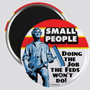 "Small People 2.25"" Magnet (10 pack)"