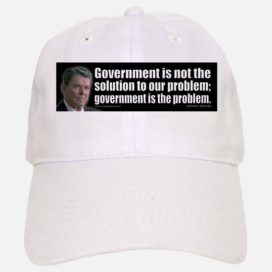 Government is not... Baseball Baseball Cap