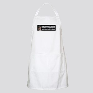 Government is not... Apron