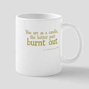 Candle Burnt Out Mug