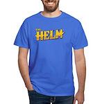 Helm Logo T-Shirt Blue